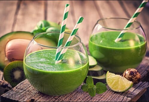 cucumber kale