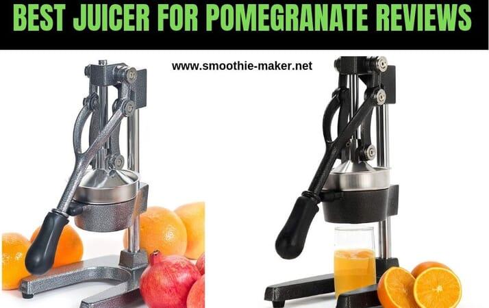 best juicer for pomegranate