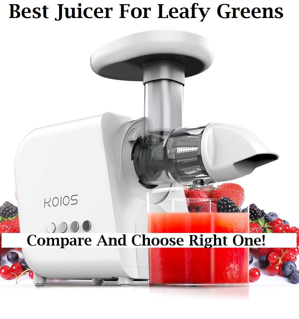 Top Best Juicer For Leafy Greens | Reviews (2019)