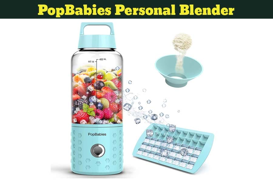 PopBabies Personal Blender Review- Features (2019)